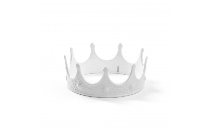 "Seletti - MY CROWN  IN PORCELLANA  "" MEMORABILIA """