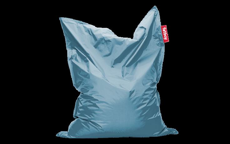 Original Poltrona sacco Blu ghiaccio