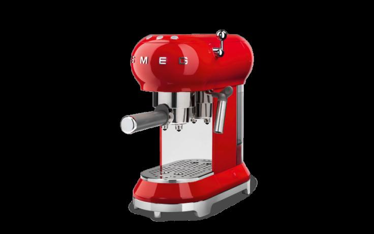 Macchina caffè rossa