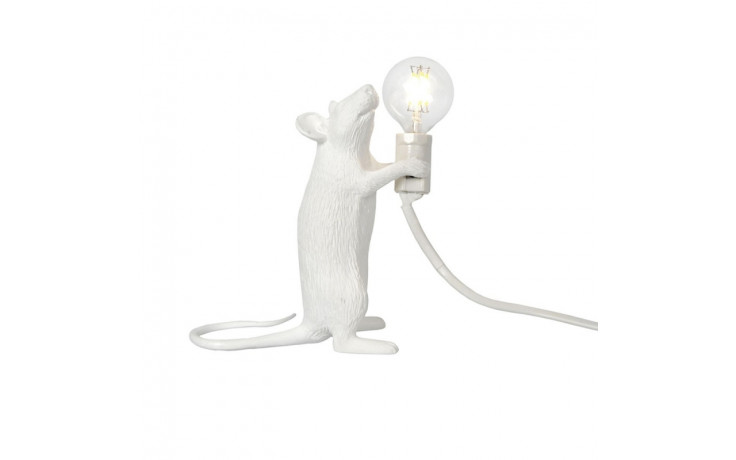 Mouse Lamp White Step