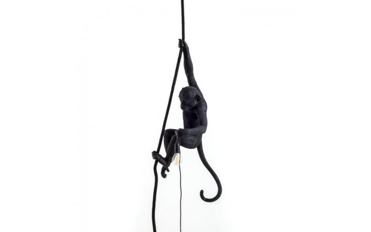 Seletti - MONKEY LAMP OUTDOOR - appesa con corda