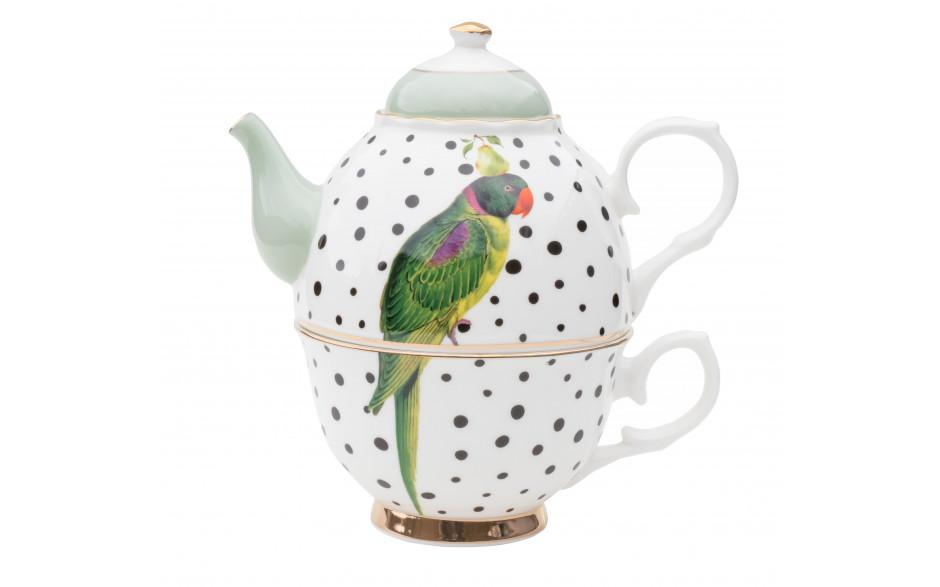 Parrot Polka Dots Tea