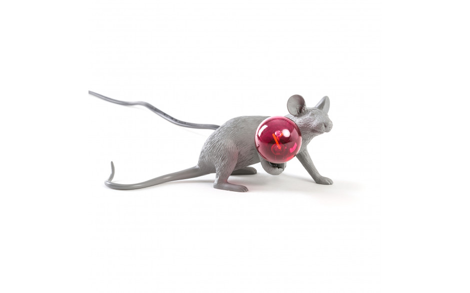 Seletti - MOUSE LAMP GREY LOP