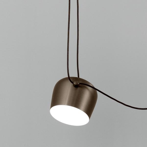 Flos lampada a sospensione aim small marrone for Aim flos prezzo