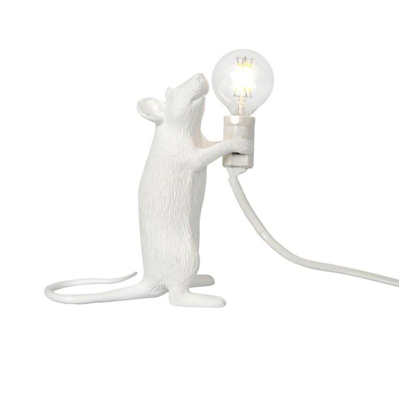 Seletti - Mouse Lamp In Piedi - Lampada in resina