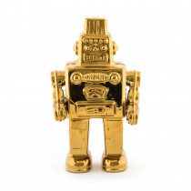 "Seletti - MY ROBOT IN PORCELLANA ""LIMITED GOLD EDITION"""
