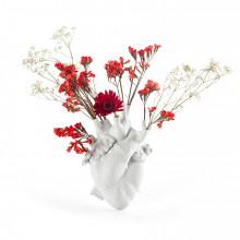 Love in Bloom White Vaso