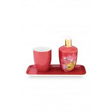 Set/3 Bathroom Twinkle Star Pink