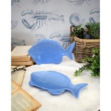 Piattini Fish Blue