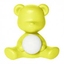 Qeeboo -  TEDDY GIRL LAMP LIME