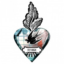 CUORE EX-VOTO - FLY HIGH / VOLA ALTO