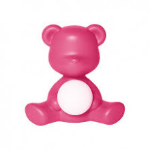 Qeeboo - TEDDY GIRL LAMP FUXIA