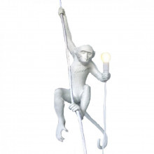 Seletti - MONKEY LAMP - appesa con corda