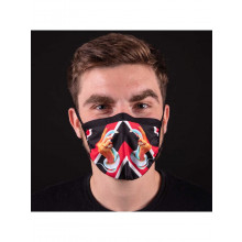 Facemask TOILETPAPER STRIPES HANDS WITH SNAKES m/l