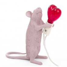 MOUSE LAMP SAN VALENTINO
