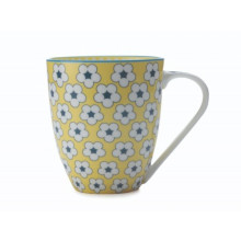 COTTON BUD MUG 500ML GIALLO