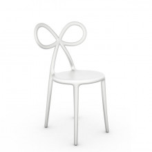 Qeeboo - RIBBON CHAIR - bianco opaco