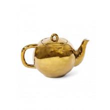 Fingers Porcelain Gold Teapot