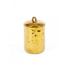Fingers Porcelain Gold Jar