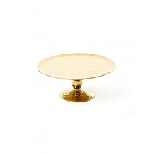Fingers Porcelain Gold Cake Stand