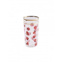 Bicchiere Toiletpaper Roses