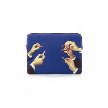 Laptop Bag Toiletpaper Lipsticks Blue