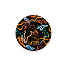 Piatto Porcellana Toiletpaper Snakes