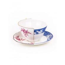 Tazza da Tè con Piattino Hybrid-Zenobia