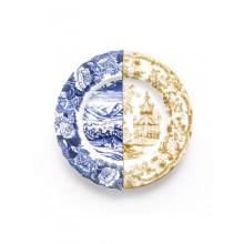 Piatto Fondo in Porcellana Hybrid-Sofronia