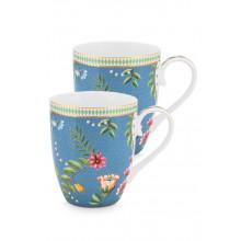 la majorelle set/2 mug large blue