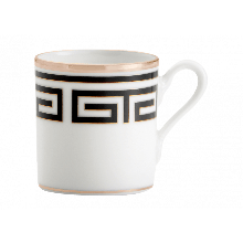 Richard Ginori - TAZZINA CAFFE' LABIRINTO NERO