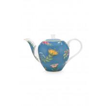 la majorelle teapot small blue