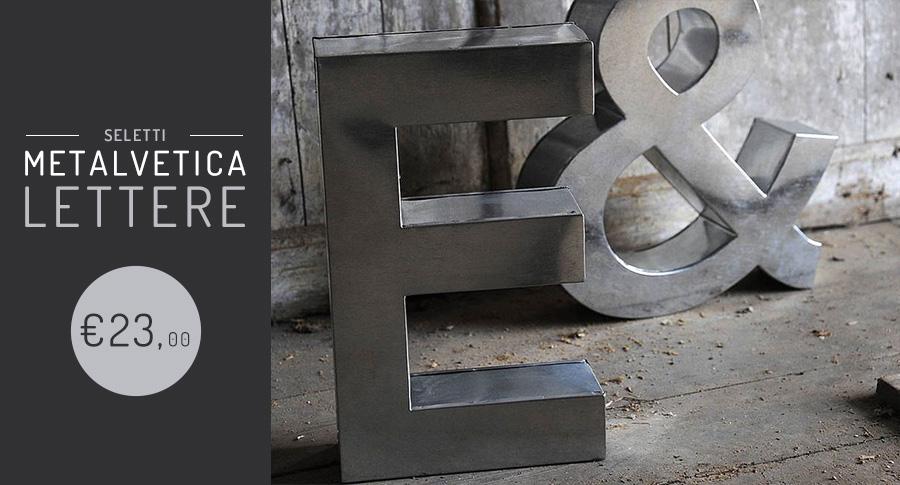 Lettere Metalvetica Seletti