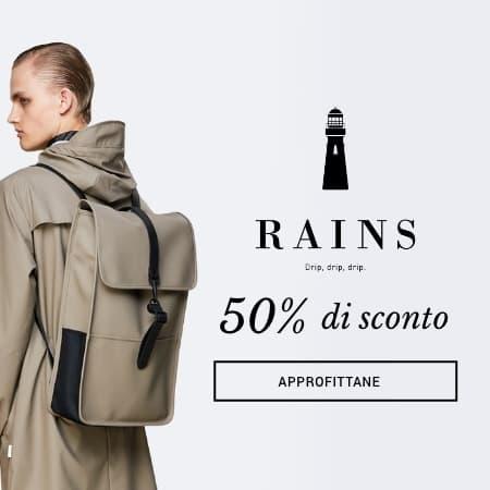 Rains al 50%